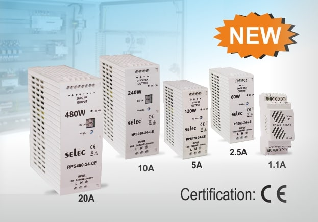 New Launch: Complete Range of CE Certified Power Supplies with Short circuit, Overload & Over Voltage Protection